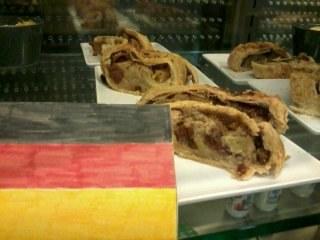 Dessert allemand proposé par la restauration
